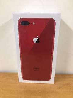 三豬3C new IPhone 8 PLUS 256G  RED