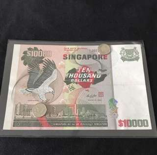 ( Offer Offer Offer) Bird Series $10000 With Prefix A1 Low Number
