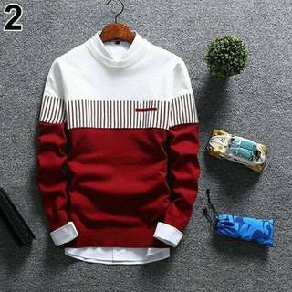Sweater Cowok, SWEATER RAJUT