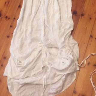 SWEETARACIA - Cotton/Poly Size 8 strapless dress VERY COOL FOR SUMMER
