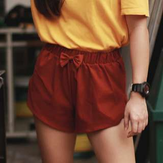 Brand New Women's Shorts with bow detail