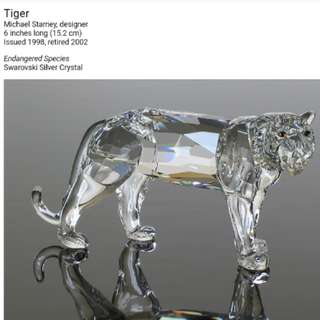 ♥️SWAROVSKI TIGER 老虎 完美品♥️
