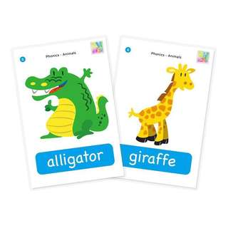 Pre order flash cards for children colorful with spelling toddler children baby kids