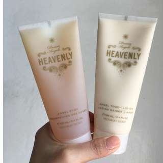 SALE! Php600 for pack! Authentic Victoria's Secret Heavenly Body Wash and Body Lotion