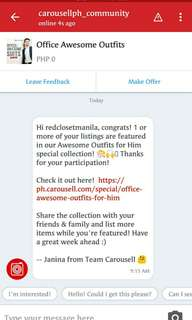 ⭐⭐THANK YOU ⭐⭐ CAROUSELL!!⭐⭐