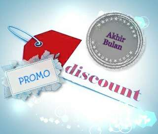 Promo disc akhir bulan all item... Yg bertanda %