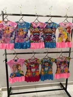 Pony,Baby shark, Princess, Frozen, Tsum Tsum BNWT 2
