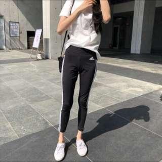 🚚 Adidas 合身長褲