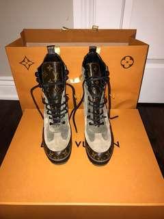 Louis Vuitton boots!