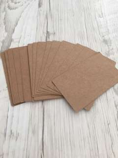 30 Brown cards