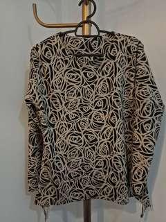 Women long sleeve blouse