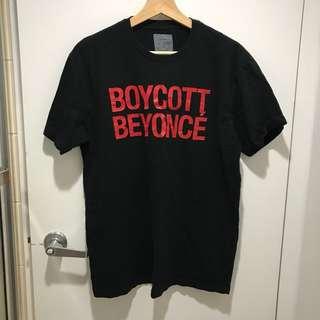 BOYCOTT BEYONCÉ FORMATION TOUR TSHIRT