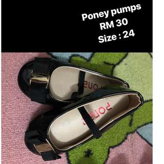 PONEY SHOES FOR GIRL SIZE:24