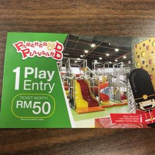 Playland ticket @ Sunway Putra Mall