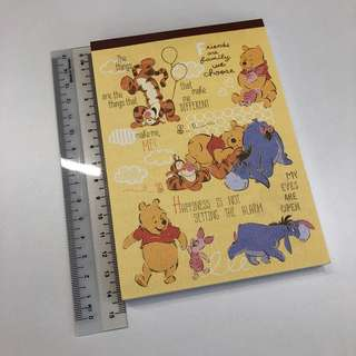 Winnie-the-Pooh Notepad