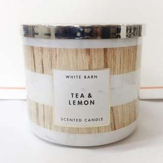 Bath and Body Works - Tea & Lemon candle