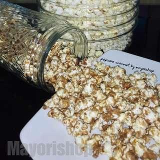 Popcorn Caramel Ala Bioskop Kemasan Plastik Kecil 100gram Poppy Popcorn Happy