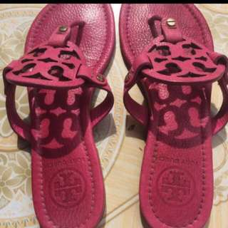 💯AUTHENTIC TORY BURCH LEATHER MILLER SANDAL