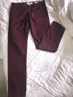 H&M L.O.G.G Mens Skinny Fit Trousers