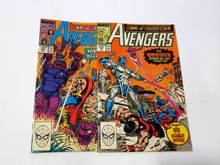 AVENGERS 311 & 313 ACTS OF VENGEANCE MARVEL COMICS