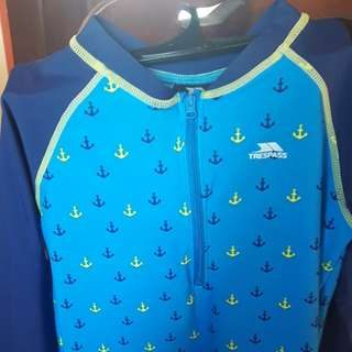NEW Trespass Boy 2 piece Swim Set 11/12y