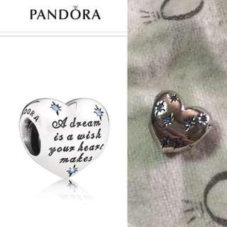 preloved AUTHENTIC Pandora cinderella charm