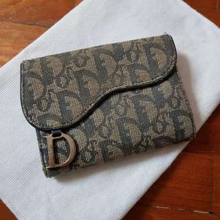 Authentic Christian Dior Monogram Wallet