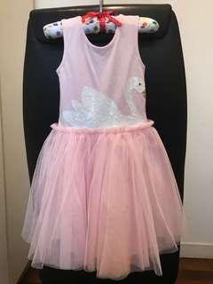 Ballerina tulle tulle dress.