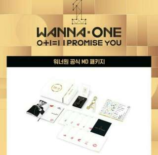 [WTS FAST] WANNA ONE OFFICIAL MD PACKAGE IPU