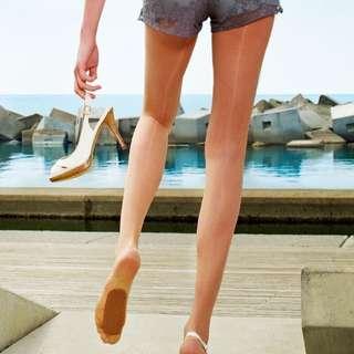 BN Nude Beige Thigh High Stockings Hosiery Tights x13
