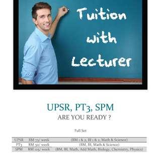 Lecturer Tuition Centre