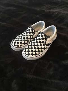 Checkered vans size 6.5