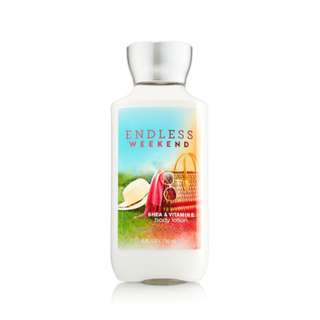 Bath & Body Works Endless weekend Shea & vitamin E Body Lotion For Women