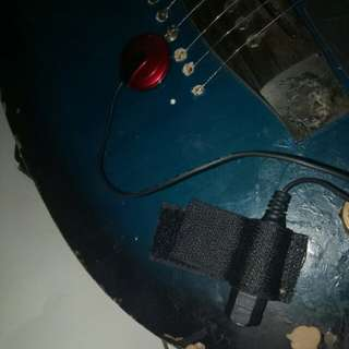 Transducer Pickup for Acoustic Guitar