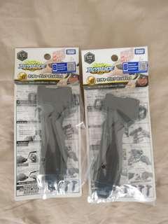 Beyblade Burst Takara Tomy B-109 launcher grip Gunmetallic