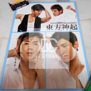 TVXQ A3 SIZE POSTER