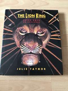 The Lion King Musical book