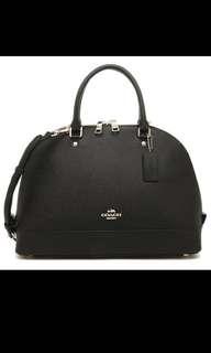 Coach 有單black handbag手袋