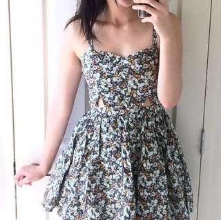 Temt Floral Dress