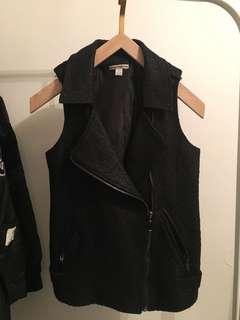 Black Moto vest