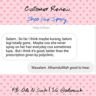 Shoo Lice Review