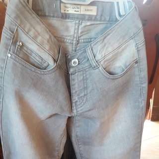 NEW Teddy Smith Girl Jeans 12y (grey)