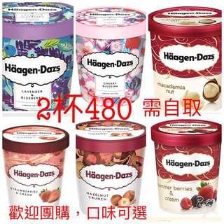 哈根達斯冰(haagen-Dazs)2杯480