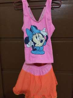 Swimwear Medium can fit to 2-3 y/0