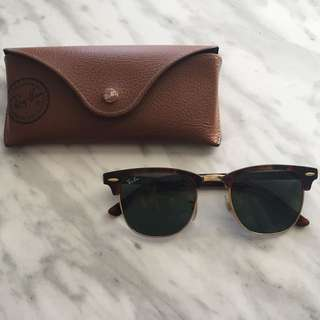 AUTHENTIC RayBan Clubmaster Sunglasses
