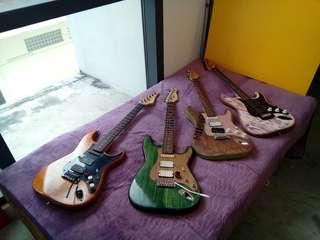 Mezza9 Custom Guitars