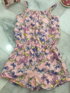 Next girl jumpsuit lovely butterfly print