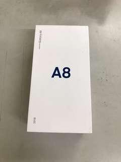 SAMSUNG GALAXY A8 2018 32G金色!全新未拆