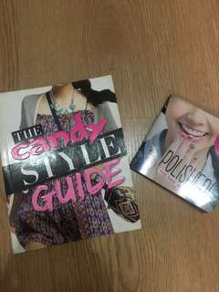 the candy style guide and the nail art book