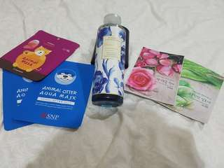 Take all: Masker Animal Korea, Bath essence Marks&Spencer